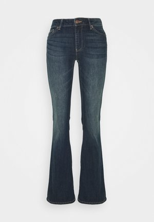 KAREN - Jeans Bootcut - dark denim