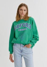 PULL&BEAR - OXFORD - Sweatshirt - green - 0