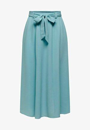 A-line skirt - aqua