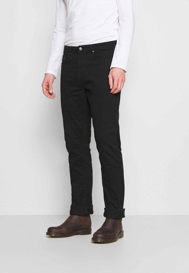 REGULAR - Jean slim - black