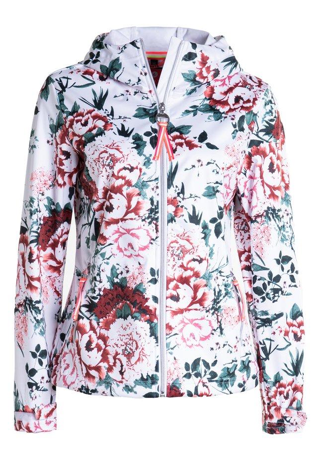 ANNIS - Soft shell jacket - raspberry