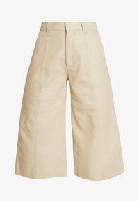 Gestuz - SURI - Leather trousers - safari - 3