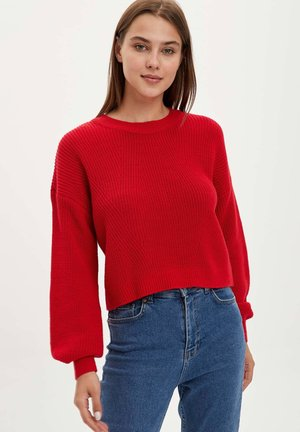 JUMPER - Trui - red