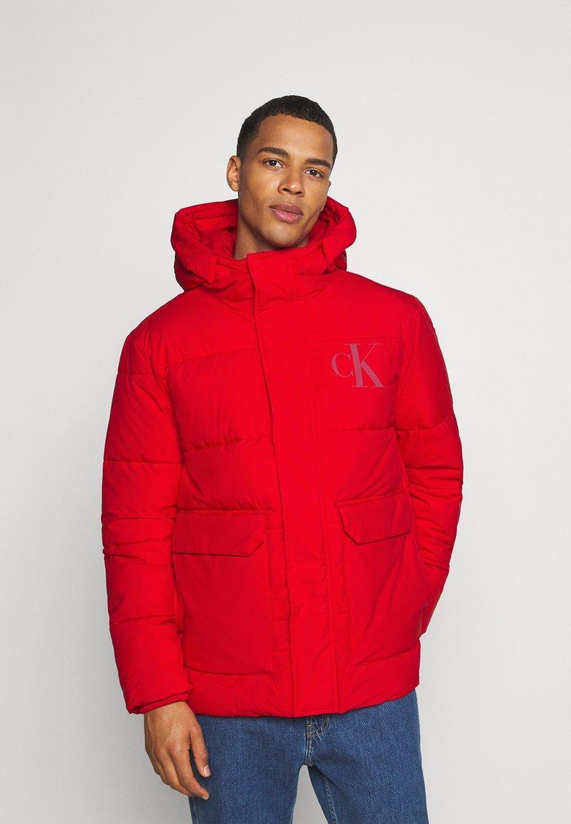 Calvin Klein Jeans - ECO JACKET - Winter jacket - red hot