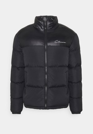 CONTRAST PANEL JACKET - Winter jacket - black