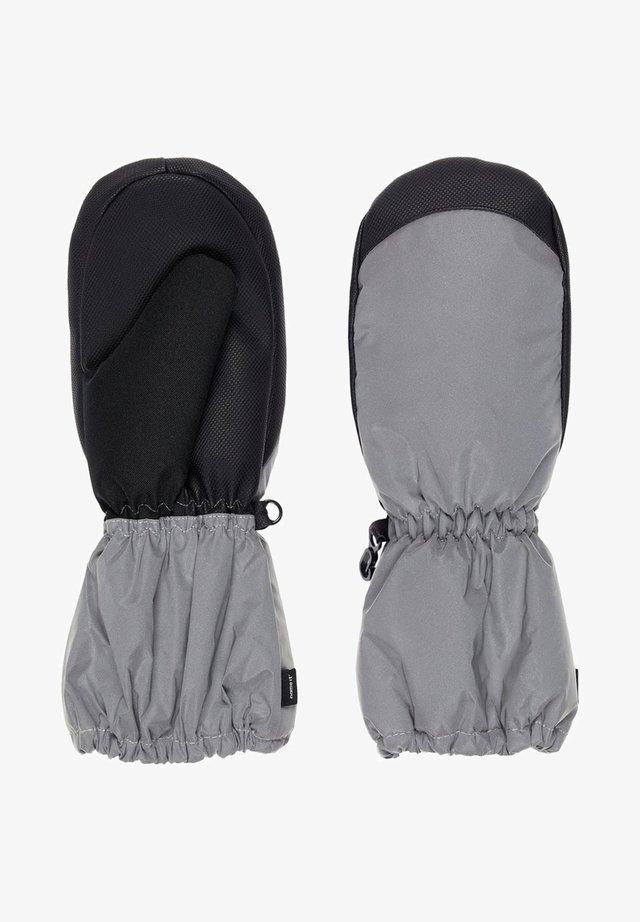 WASSERDICHTE REFLEKTIERENDE - Rękawiczki z jednym palcem - frost gray