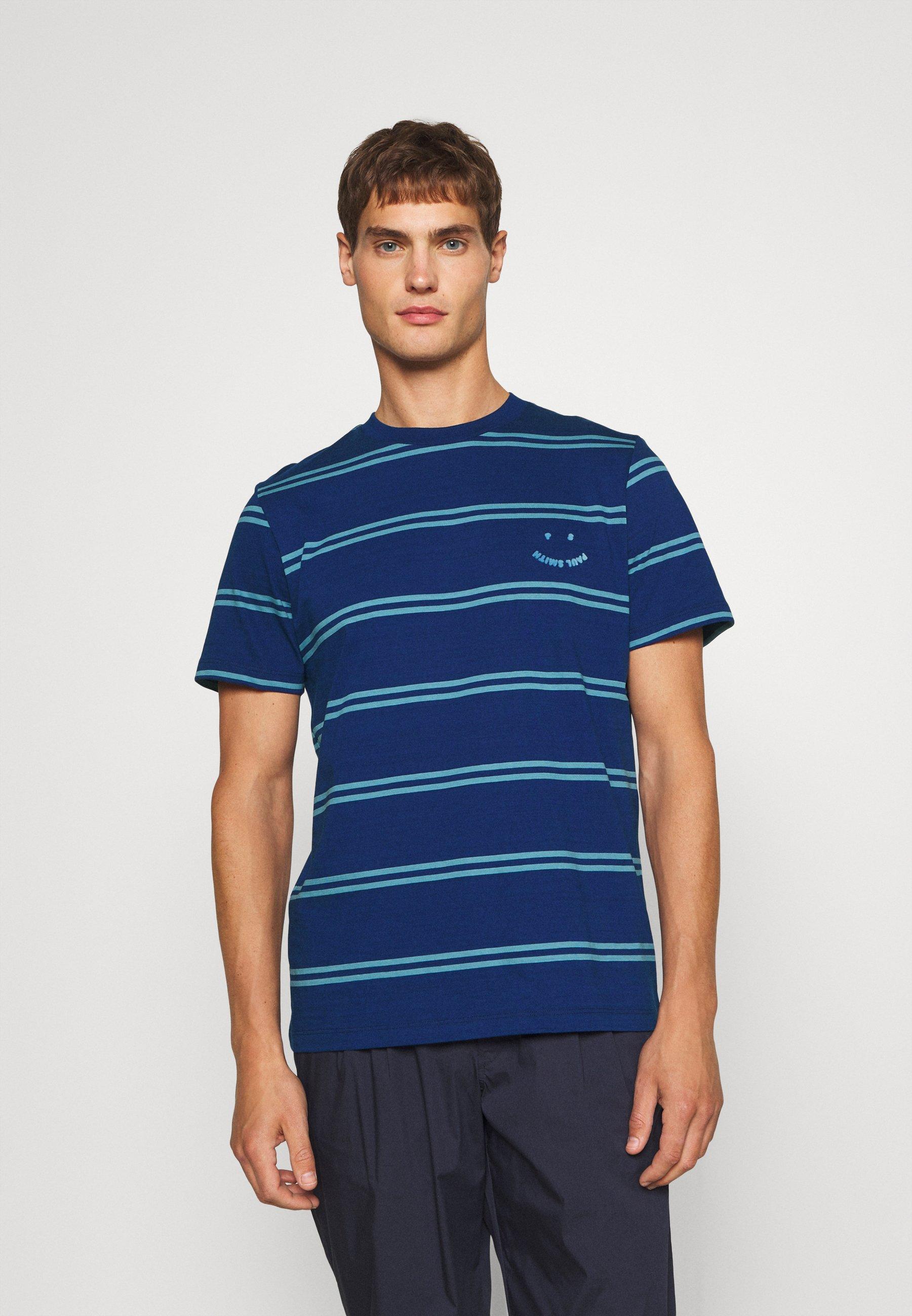 Herren REG FIT SHIRT HAPPY - T-Shirt print