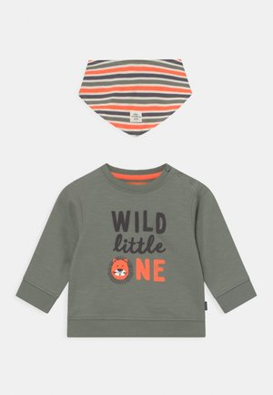 SET - Sweatshirt - khaki