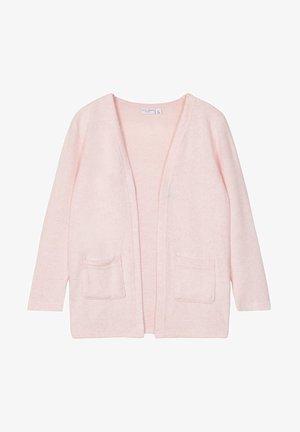 VORN OFFENE - Cardigan - coral blush