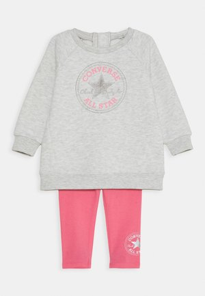 CREW JOGGER SET - Sweater - bright pink lemonade