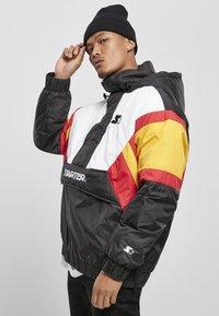 Starter - Outdoor jacket - blk/wht/starter red/golden - 3