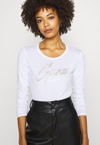 Guess - CAMILLA  - Long sleeved top - true white - 3