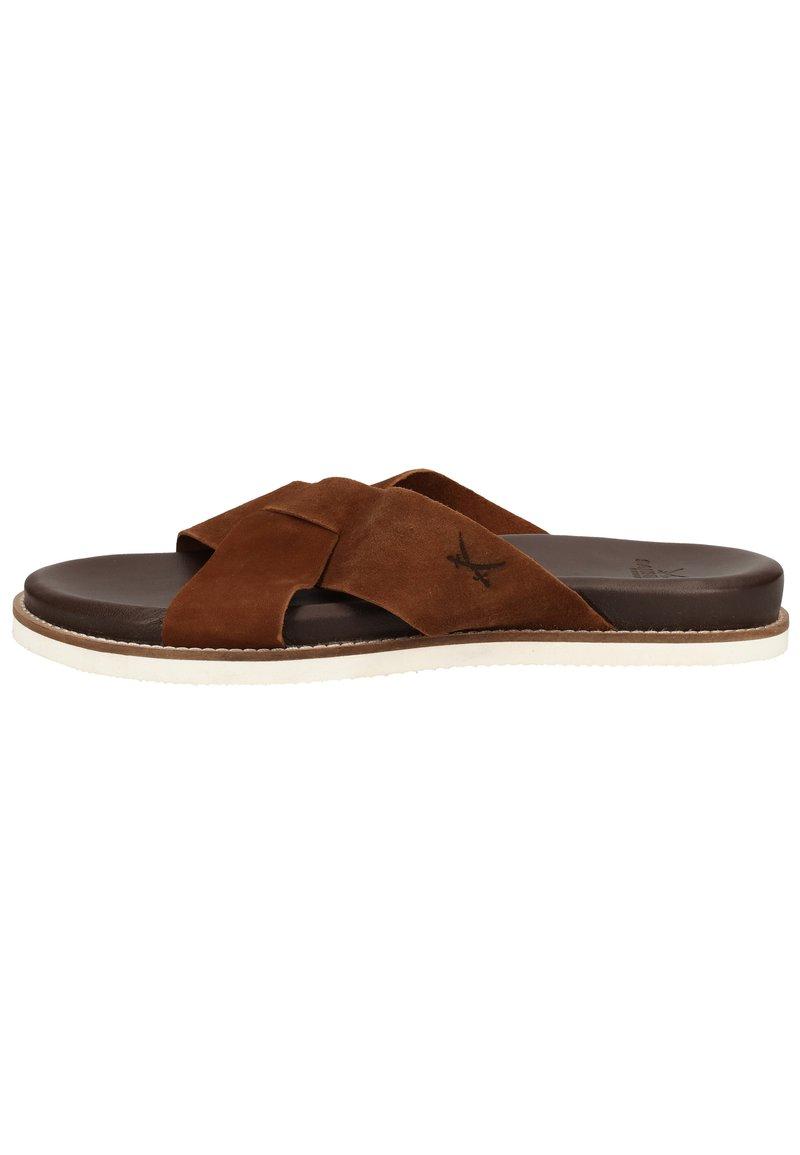 Sansibar Shoes - Muiltjes - dunkelbraun 41