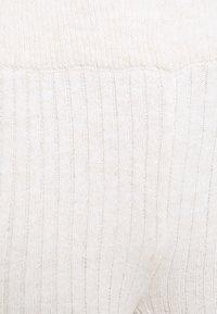 Dorothy Perkins Curve - WIDE LEG TROUSER - Broek - oatmeal - 2