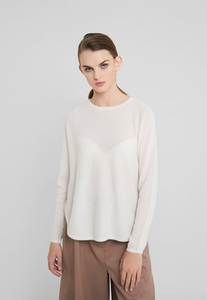 CURVED - Jumper - white