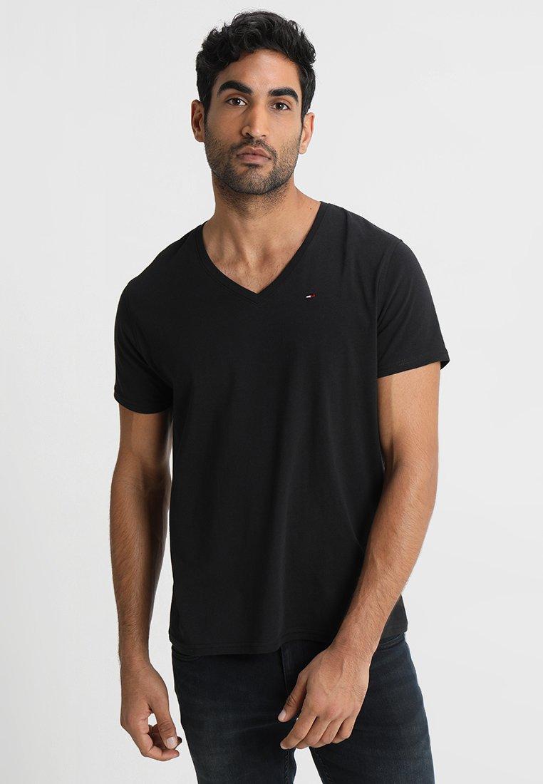 Tommy Jeans - ORIGINAL REGULAR FIT - T-shirt basic - black