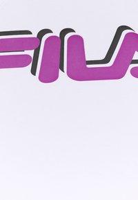 Fila - FIBI CROPPED - Top - bright white/black - 2