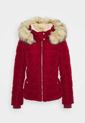 ONLCAMILLA QUILTED - Winter jacket - rhubarb