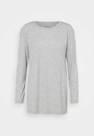 RELAXD CREW - Long sleeved top - grey