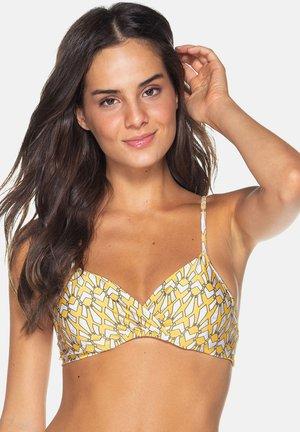 MIAMI - Bikini top - yellow