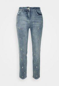 Patrizia Pepe - PANTALONI TROUSERS - Jeans Skinny Fit - blue - 0