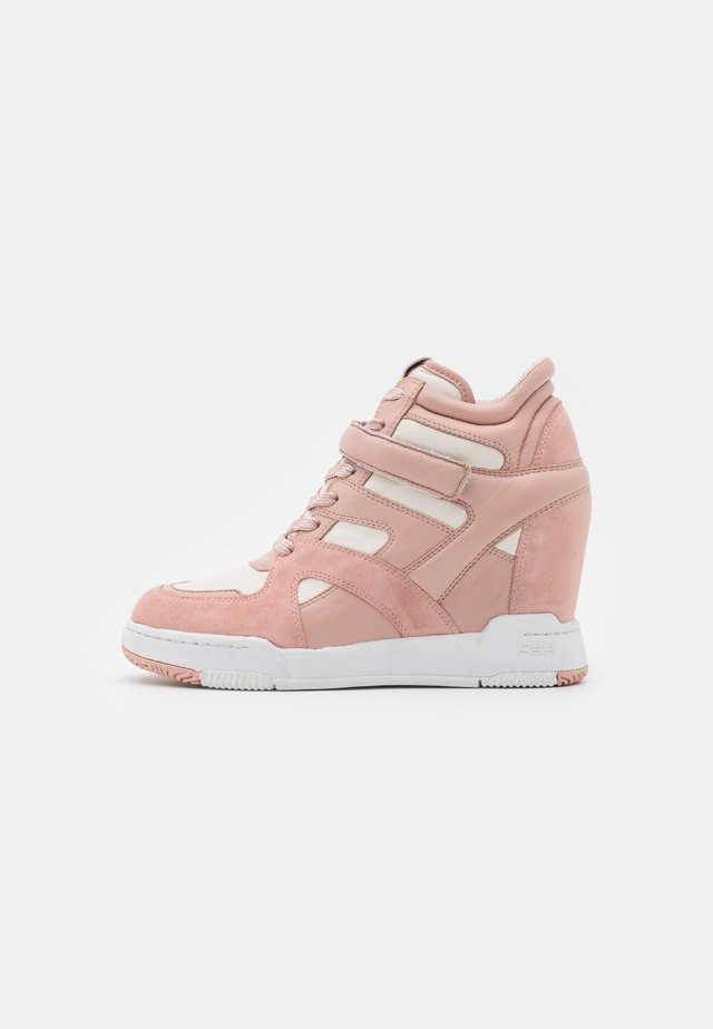 BODY - Höga sneakers - pinksalt/gardenia