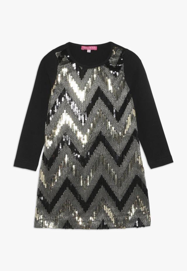 ERICA - Jersey dress - noir