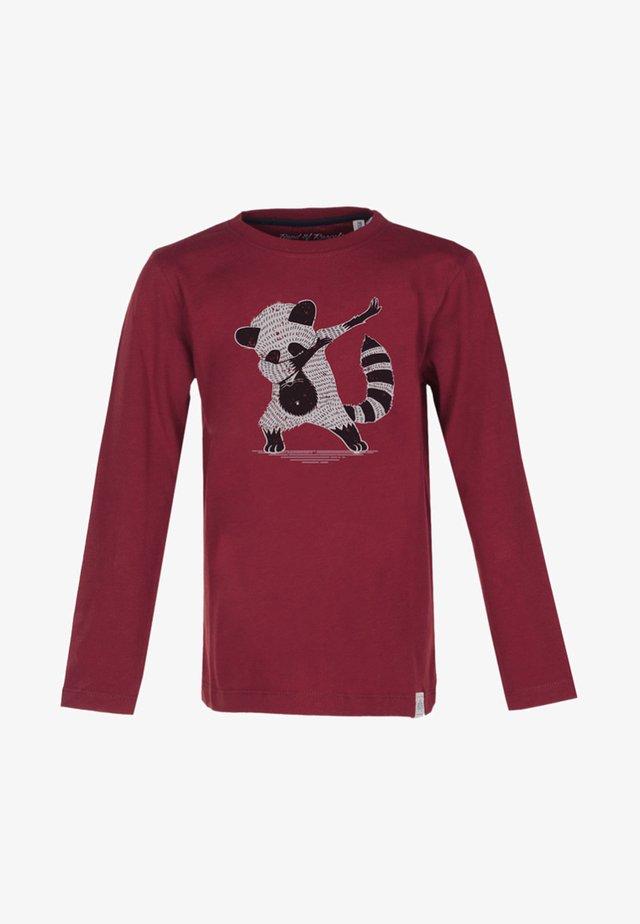 Langærmede T-shirts - red