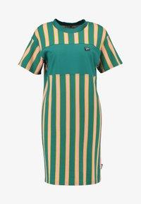 Puma - DOWNTOWN STRIPE DRESS - Sukienka letnia - teal green - 4