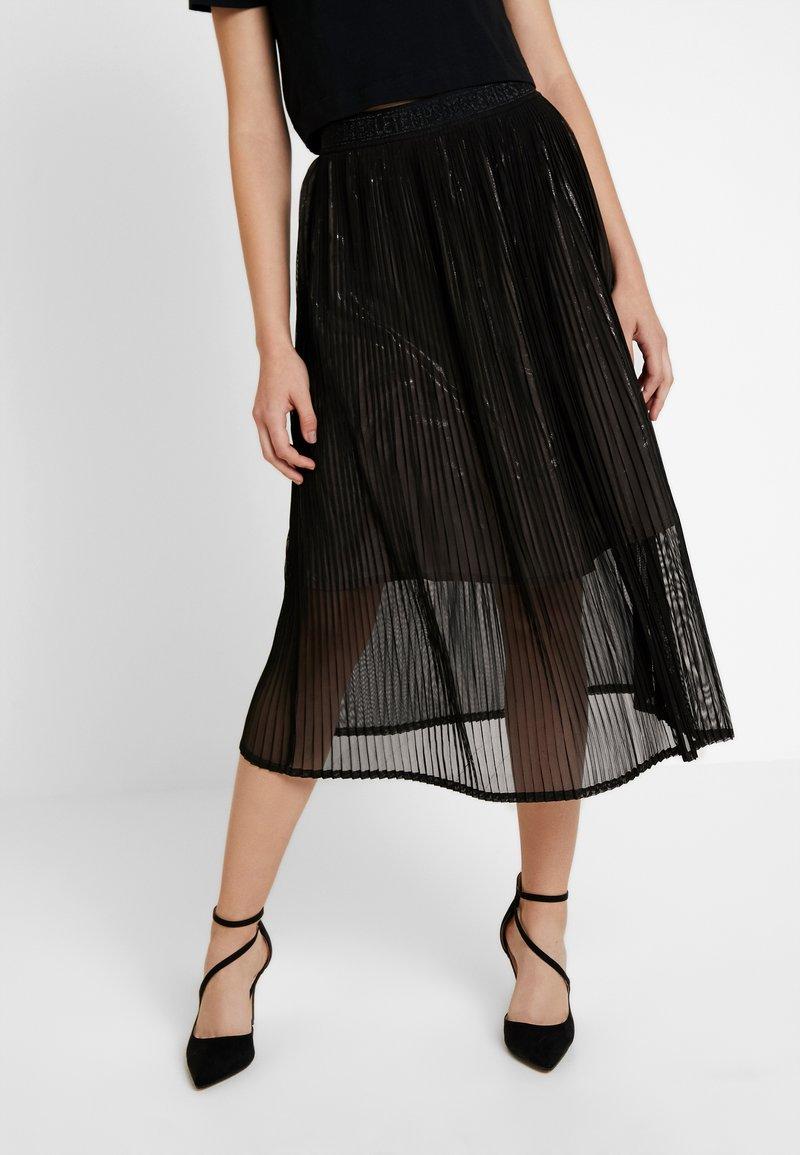 Le Temps Des Cerises - ANGELA - A-line skirt - black