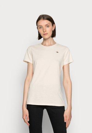 RECYCLED SCRAP PROGRAM TEE - Basic T-shirt - raw undyed
