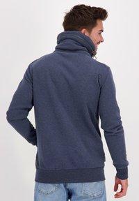 alife & kickin - ELIASAK A - Zip-up hoodie - marine - 2