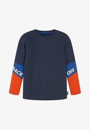 MIT SCHRIFTZUG - Longsleeve - kids dress blue