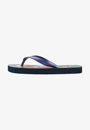 Pool shoes - bunt dschungel