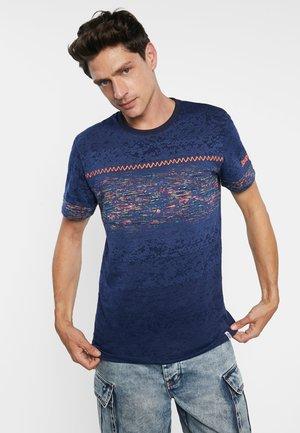 TS_CATALDO - T-shirt print - blue