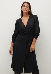 Violeta by Mango - CALADO - Day dress - schwarz - 0