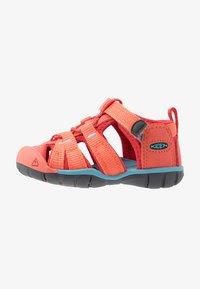 Keen - SEACAMP II CNX - Chodecké sandály - coral/poppy red - 1
