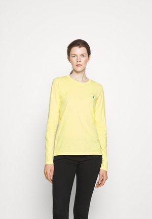 TEE LONG SLEEVE - Langarmshirt - bristol yellow