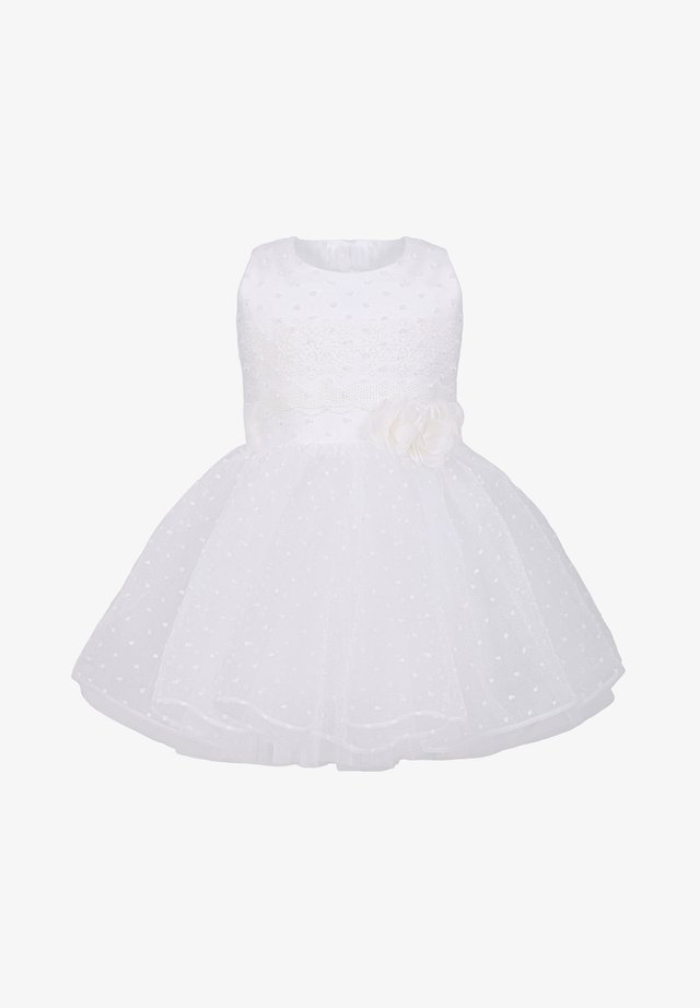 MIT BLUMEN - Day dress - ivory
