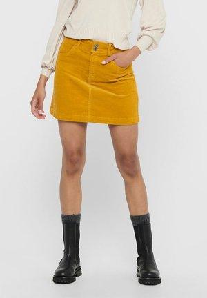 JDYERA LIFE SHORT SKIRT - A-line skirt - harvest gold