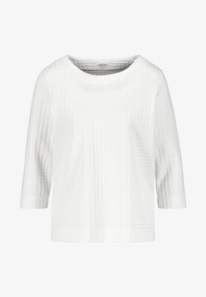 MIT JACQUARDOPTIK - Sweatshirt - off-white