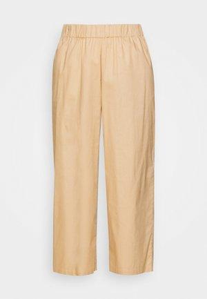 VILJA TROUSERS - Trousers - beige