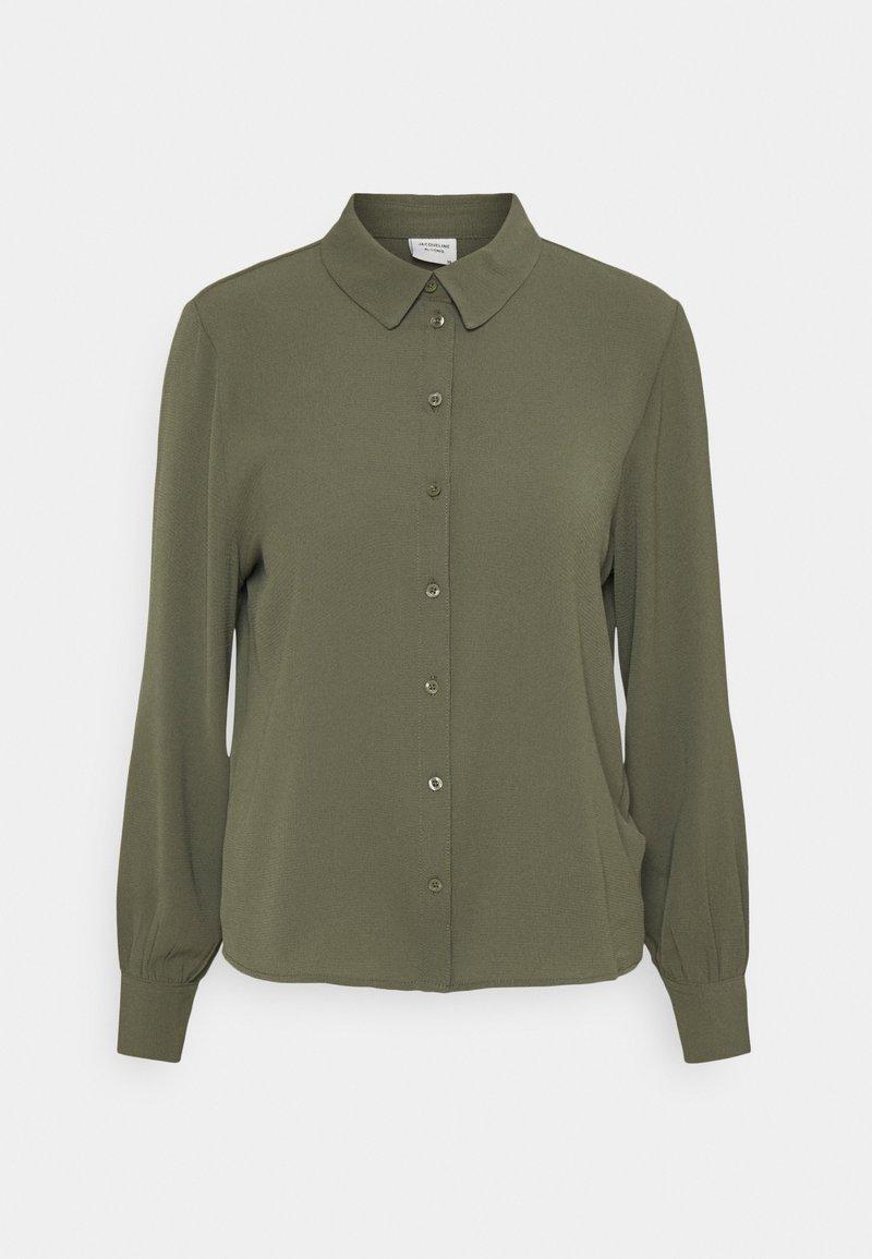 JDY - JDYMADDIE - Button-down blouse - kalamata