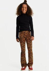 WE Fashion - Broek - light brown - 0