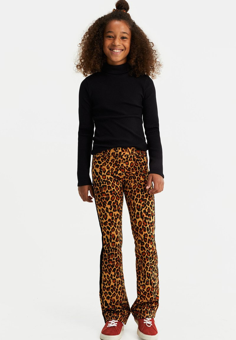 WE Fashion - Broek - light brown