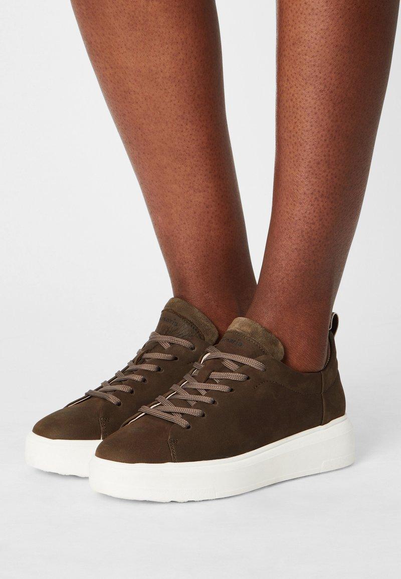Tamaris GreenStep - Sneakers laag - moss