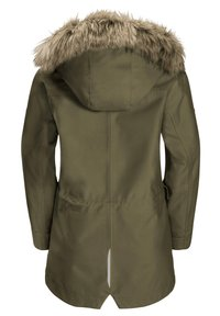 Jack Wolfskin - ELK ISLAND 3IN1 - Winter coat - burnt olive - 1