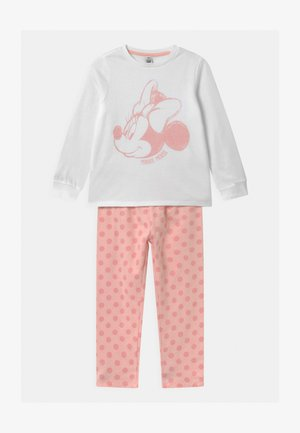 DISNEY MINNIE MOUSE - Pyjama set - white/pink