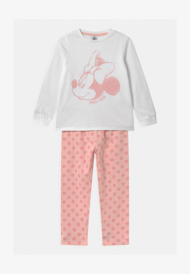 DISNEY MINNIE MOUSE - Pijama - white/pink