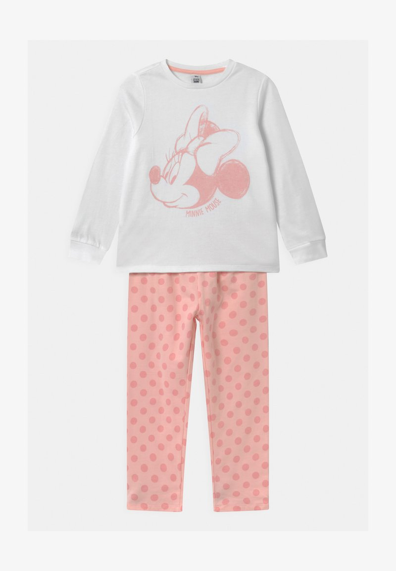 OVS - DISNEY MINNIE MOUSE - Pyjama set - white/pink